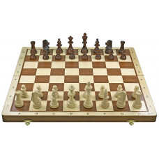 Turnier Nr. 6 - Schachkassette Rand hell